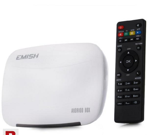 Emish x700 tv box android 4.4 rk3128 kodi xbmc