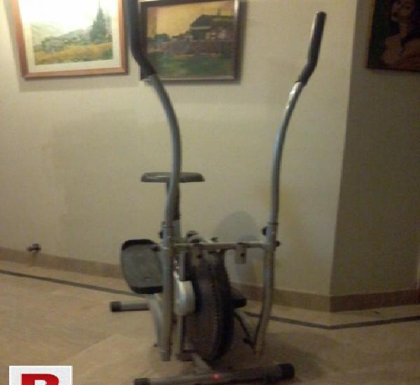 Exercise cycle elliptical