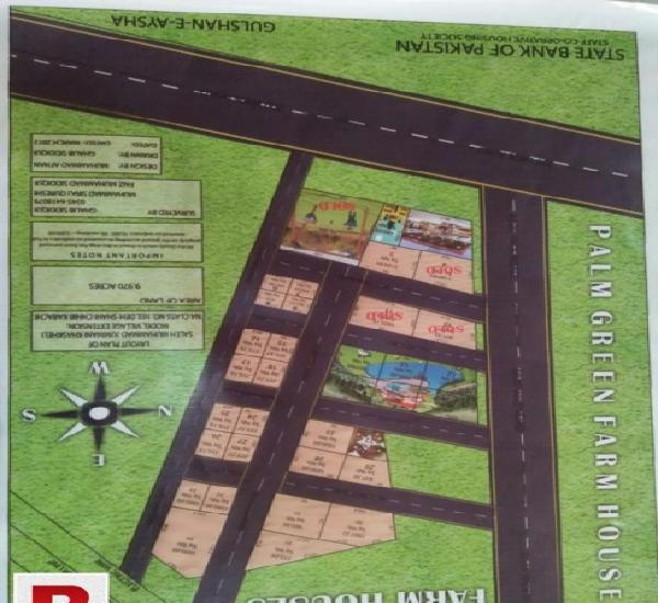 Farmhouse plot for sale
