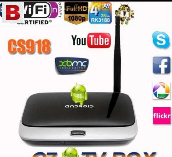 Hdmi android tv box 1080p hd quadcor with remote android 4