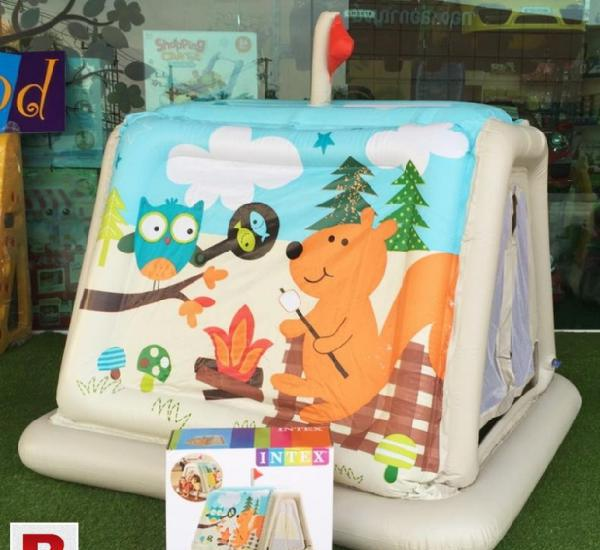 Inflatable beautiful animal trails indoor play tent for kids