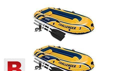 Intex challenger 3 inflatable boat
