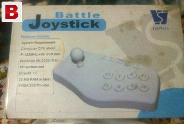 Joystick bilkul new not single day used