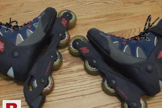 K2 6 no inline skates fresh condition