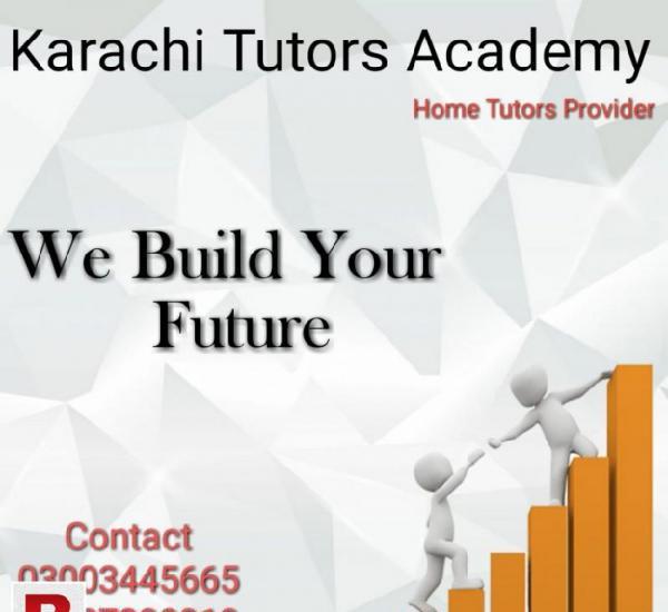 Karachi tutor academy 03072585106 (home tutor provider)