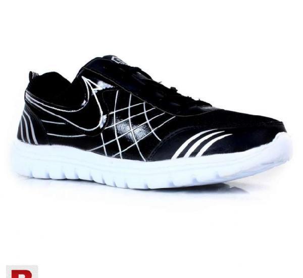 Morco black sport shoes
