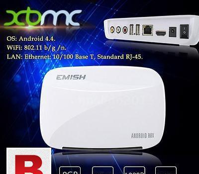 New emish x700 tv box android 4.4 rk3128 kodi xbmc