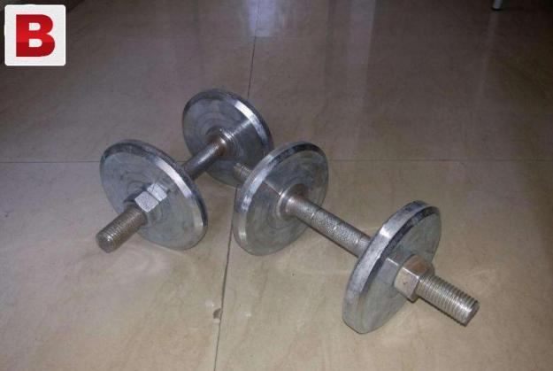 New 10 kg wieghts dumbells
