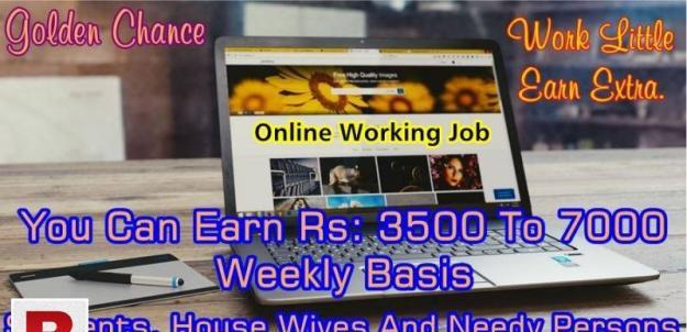 Online working job
