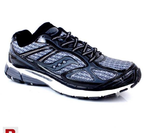 Power grip black sports shoes cs-563