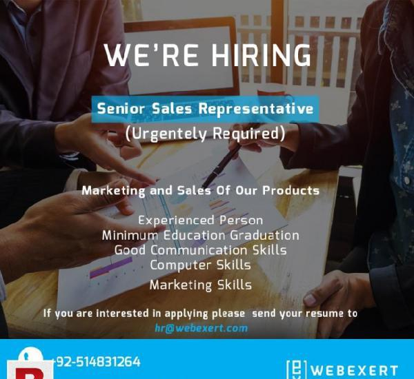 Required talented Sale Persons