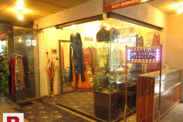 Shop for sale at main boulevard gulberg