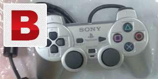 Sony ps2 controller original (silver colour)