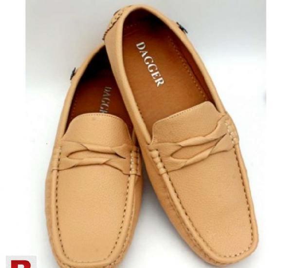 Stylish ferrari light brown loafer