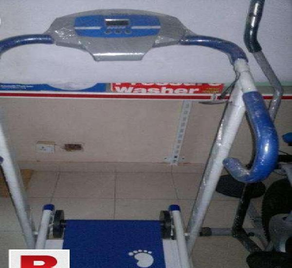 Treadmill manual machine with warranty 6 month