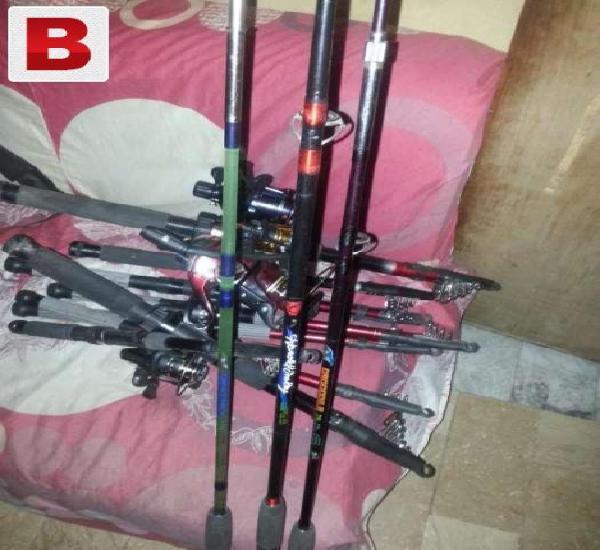 Zain ali township fishing equipments available like rads,