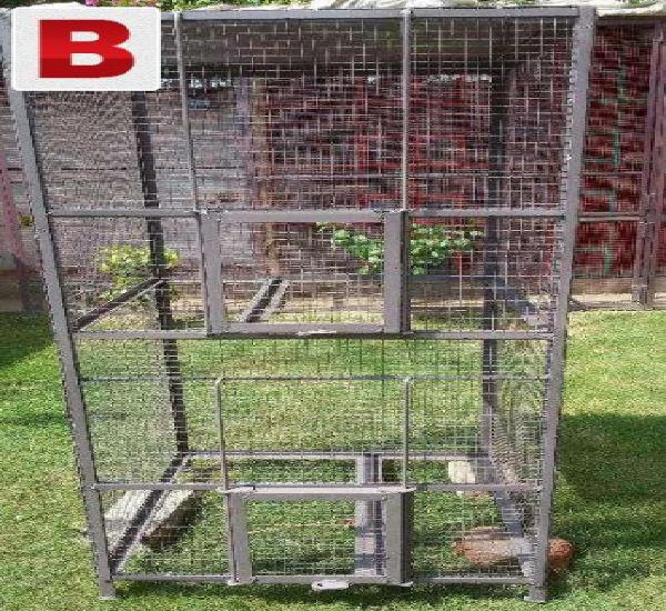 2 portion small new iron cage