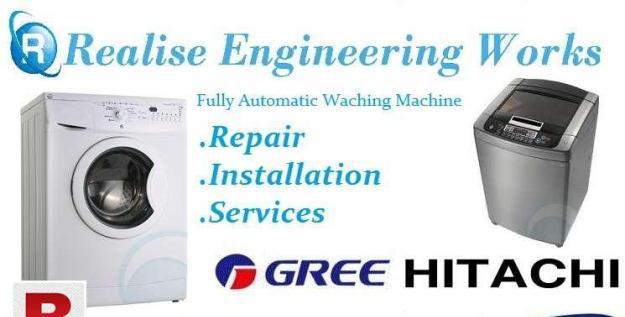 All karachi refrigerator split a/c automatic machine repair