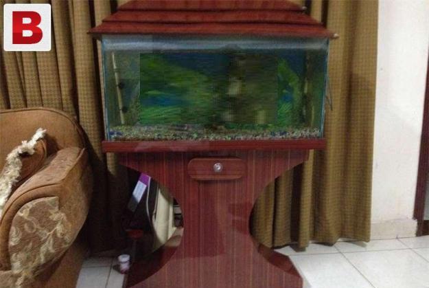 Aquarium with fishes 30 inch