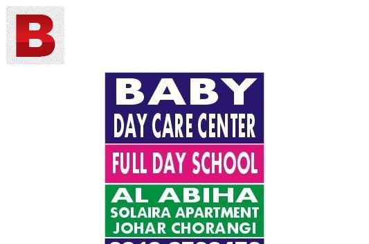 Baby day care centre, johar chorangi, g/johar