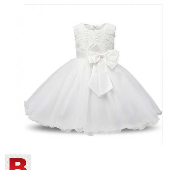 Baby kids girls princess dress sequined wedding gown1