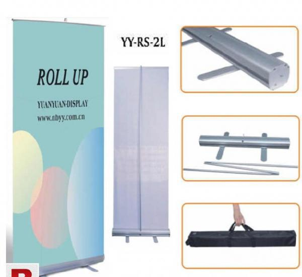 Banner stands x-stand, roll-up & display equipments