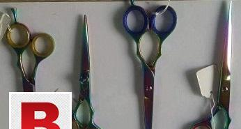 Barber scissors, hair cut scissors, hair cutting scissors