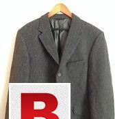 Beautifully tailored Pure wool imported 3 button blazer