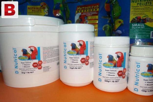 Breeding vitamins for all birds