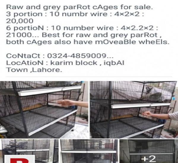 Cages and boxes with birds for sale, whole shed for sale.