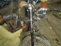 Chopper bikes modifications, karachi