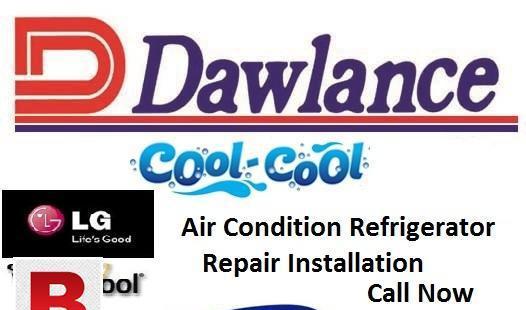 Dawlance split a/c refrigerator automatic washing machine