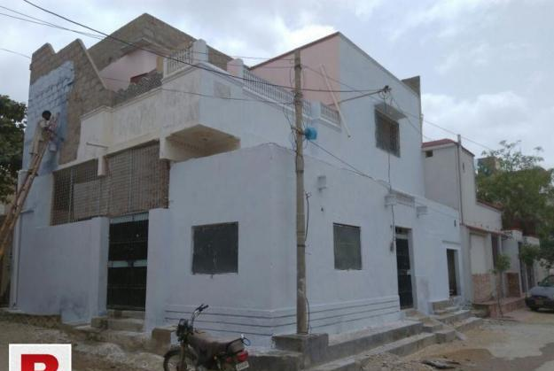 Double story corner house for rent in surjani