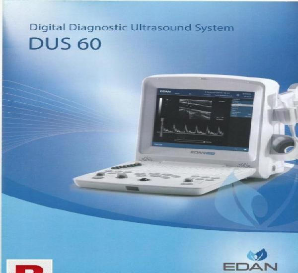 Edan dus 60 with battery backup & pw doppler available in