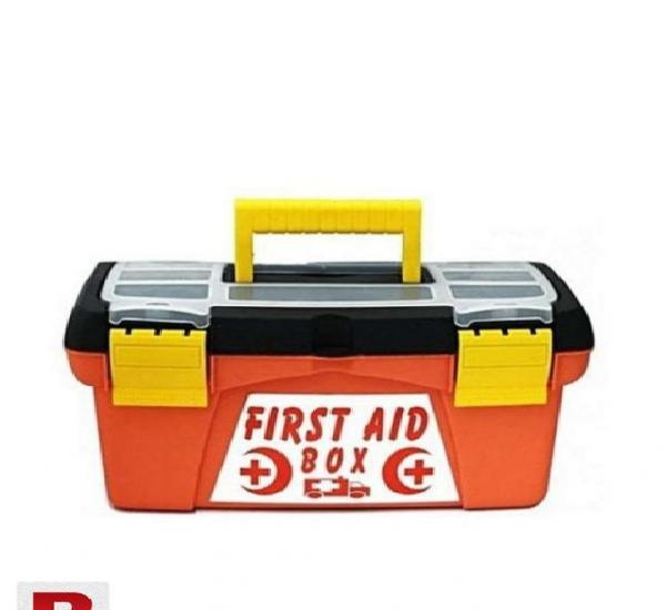 First aid emergency box