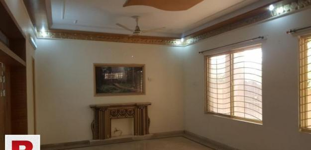 Ground portion with basement for rent in bahria town