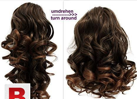 Hair extension curly branded in pakistan