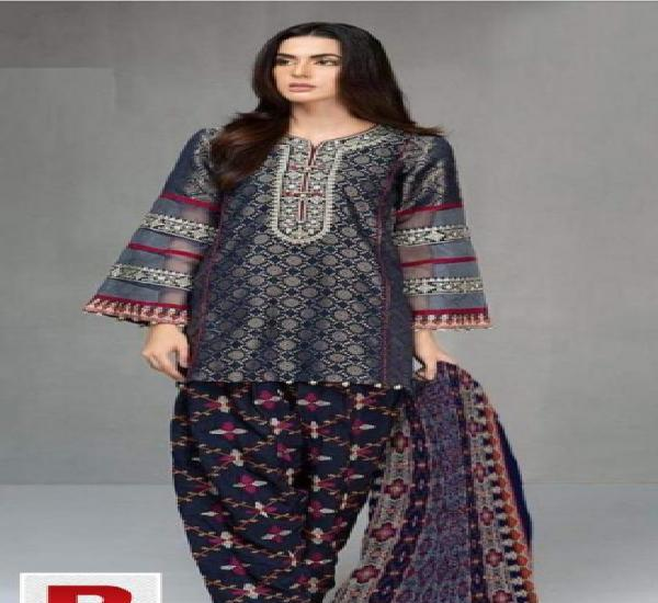 Lawn replica 3pc and patches variety only for islamabad
