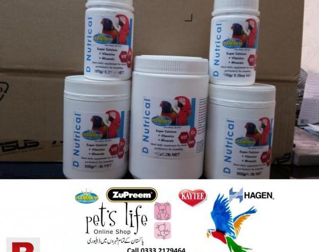 Multi vitamins for birds