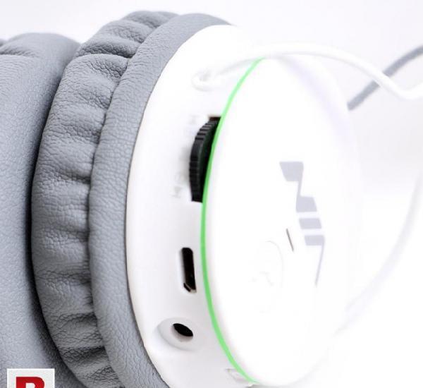 Nia x-2 bluetooth wireless headphone gray