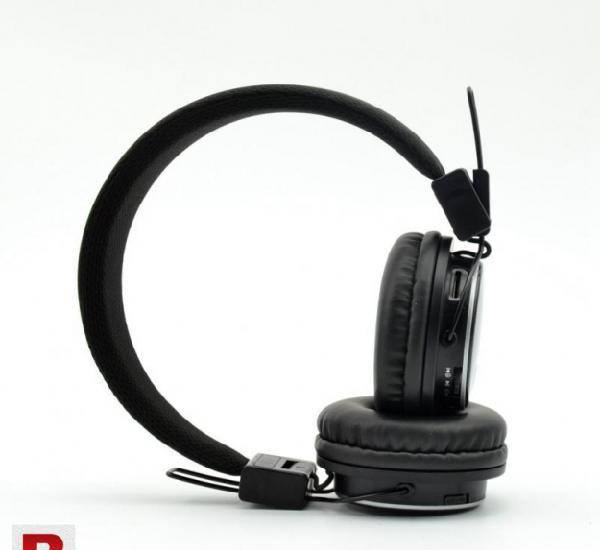 Nia x-2 bluetooth wireless headphone black