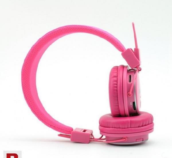 Nia x-3 bluetooth wireless headphone pink