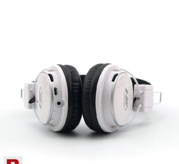 Nia x-3 bluetooth wireless headphone white