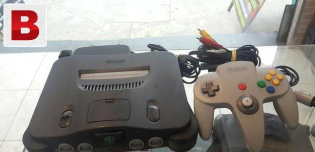 Nintendo 64 3d 64bit game console having better grphics than