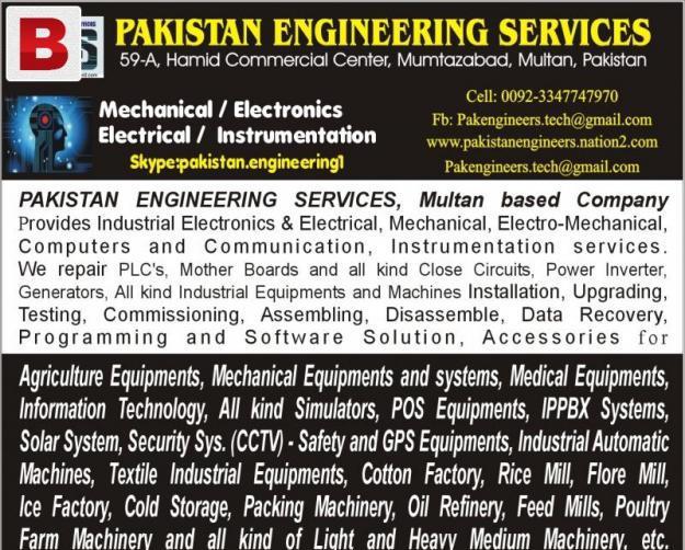Pakistan engineering services