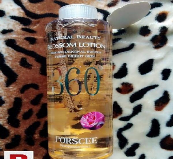 Porscee 360 natural beauty blossom lotion toner 500ml