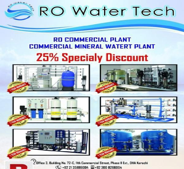 Ro water tech equipment