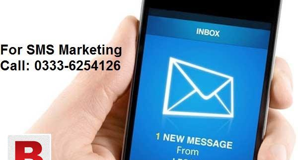 Sms marketing service in lahore and all pakistan