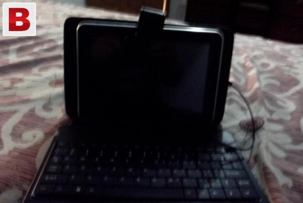 Tablet cover with usb keyboard