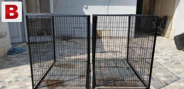 Used spot welded cage for birds